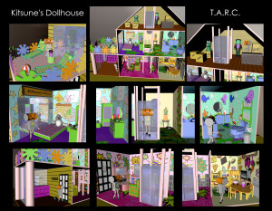Kitsune's Dollhouse- T.A.R.C.