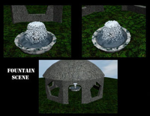 Domed Fountain