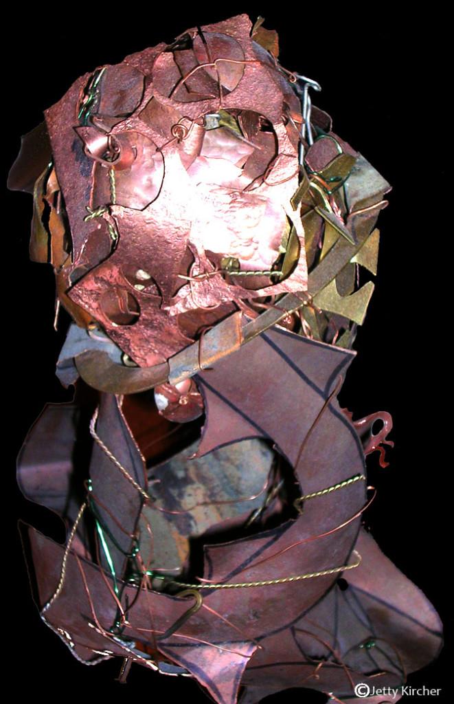 Tumor Cut- copper, bronze