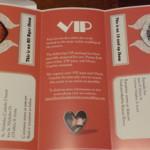 Concert Themed Wedding- Concert Packet Invitation Set Inside