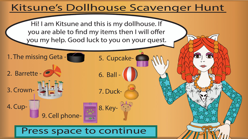 Kitsune's Dollhouse Instructions