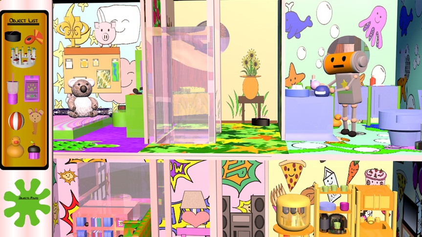 Kitsune's Dollhouse In Game Play