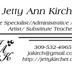 Sample Business Card Design- White