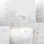 Sketches for the game Harmony