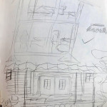 Original House and Dollhouse Sketches
