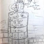 Robot Hotel Sketch