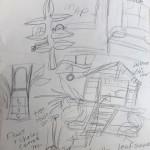 Original Tree Room Sketches